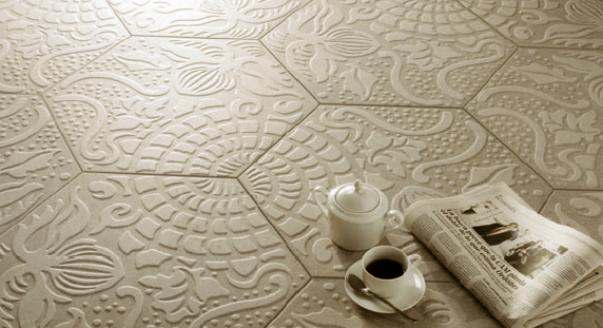 Напольная плитка из керамики
