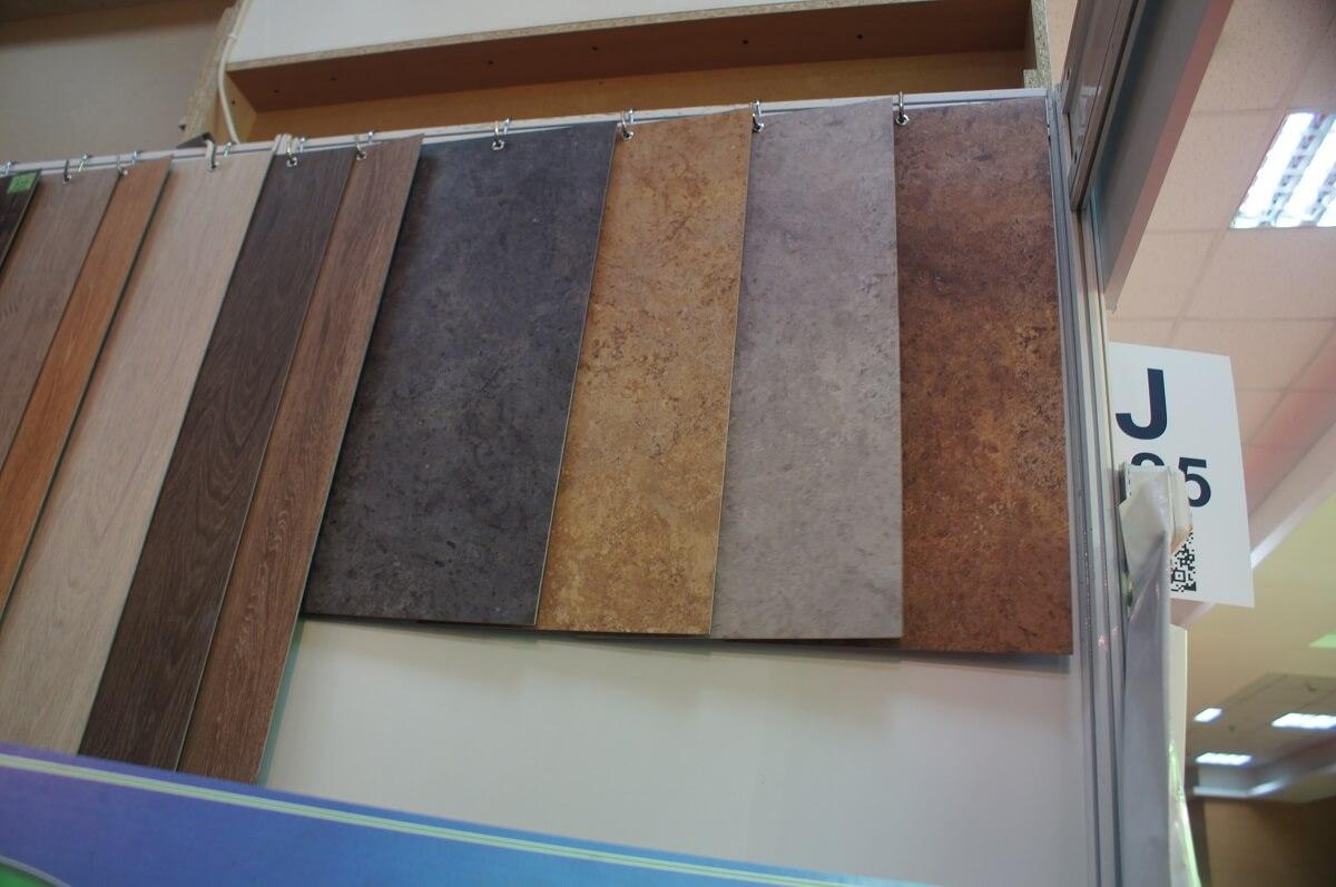 Выбор плитки ПВХ