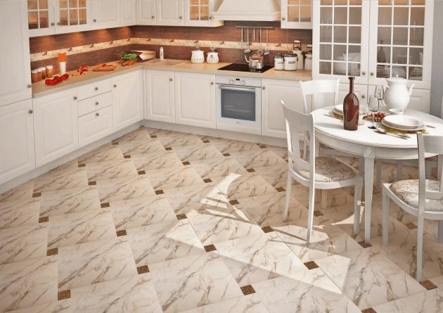 плитка напольная фото для кухни