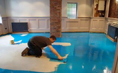 Как устанавливать наливные полы своими руками