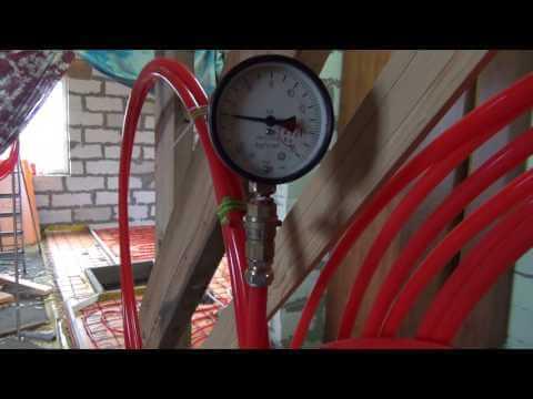 Опрессовка труб и проверка давления