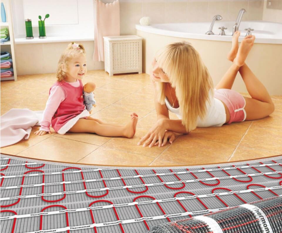 Теплый пол - уют вашего дома