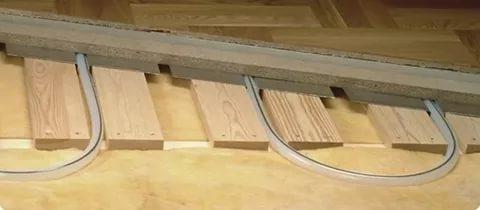Как сделать теплый пол в деревянном доме своими руками 81