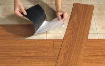 Напольная кварц виниловая плитка
