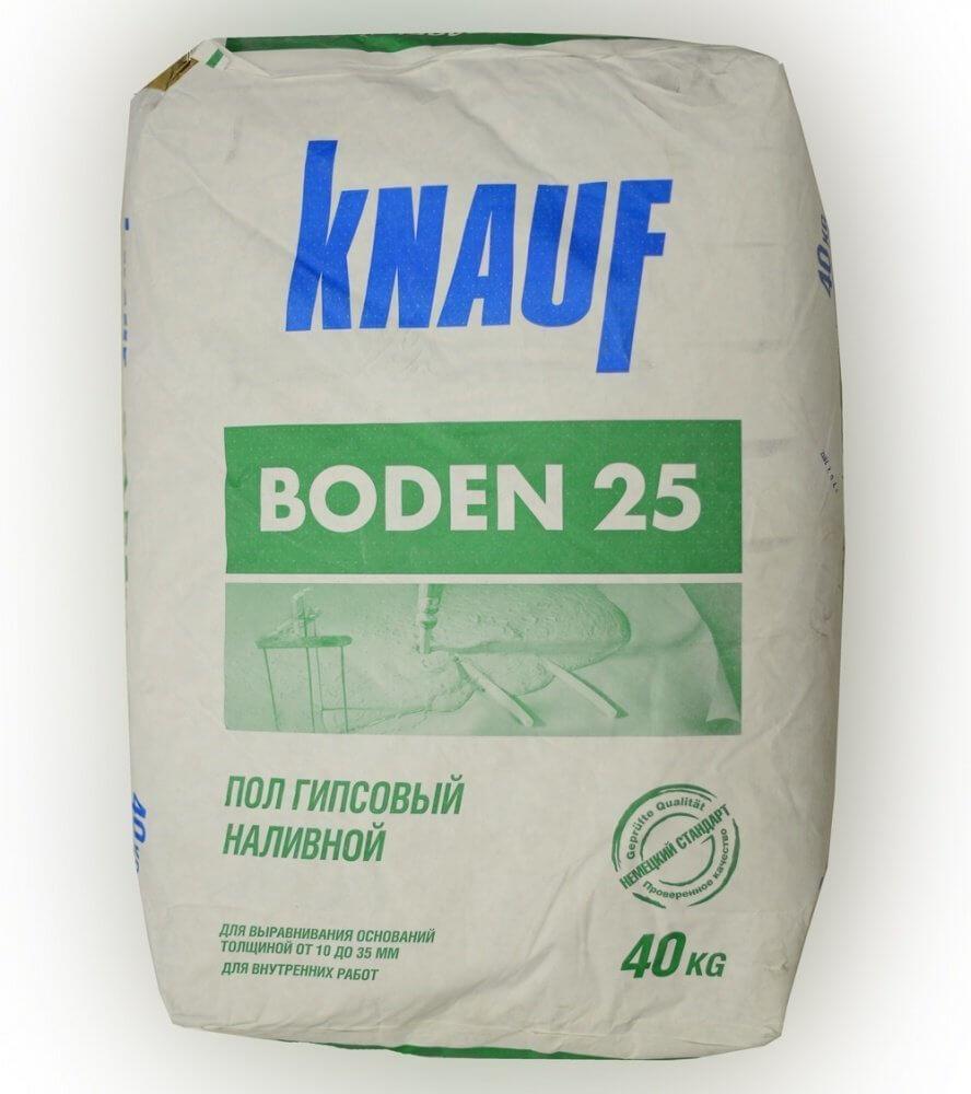 Пример гипс содержащей смеси фирмы Knauf