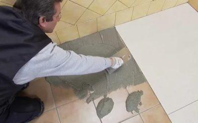 Как положить плитку на старую плитку
