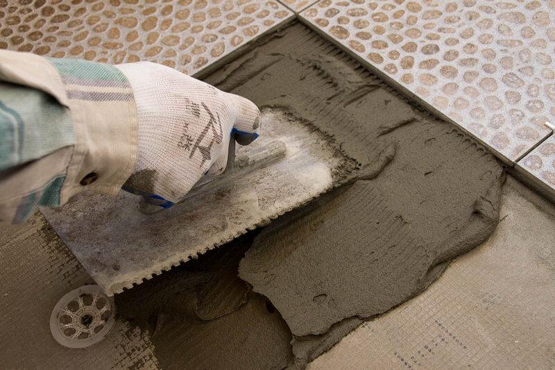 Клей для пола цементный