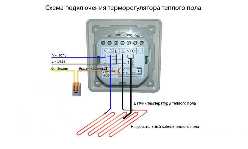 Как подключить теплый пол