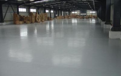 Виды промышленных бетонных полов и способы заливки