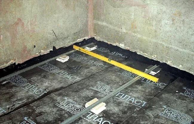 Гидроизоляция бетонного пола