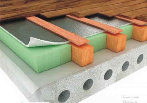 Утеплить бетонные полы в частном доме своими руками 145