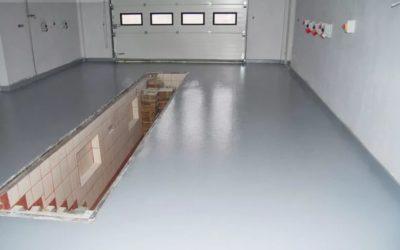 Как делать наливной пол для гаража