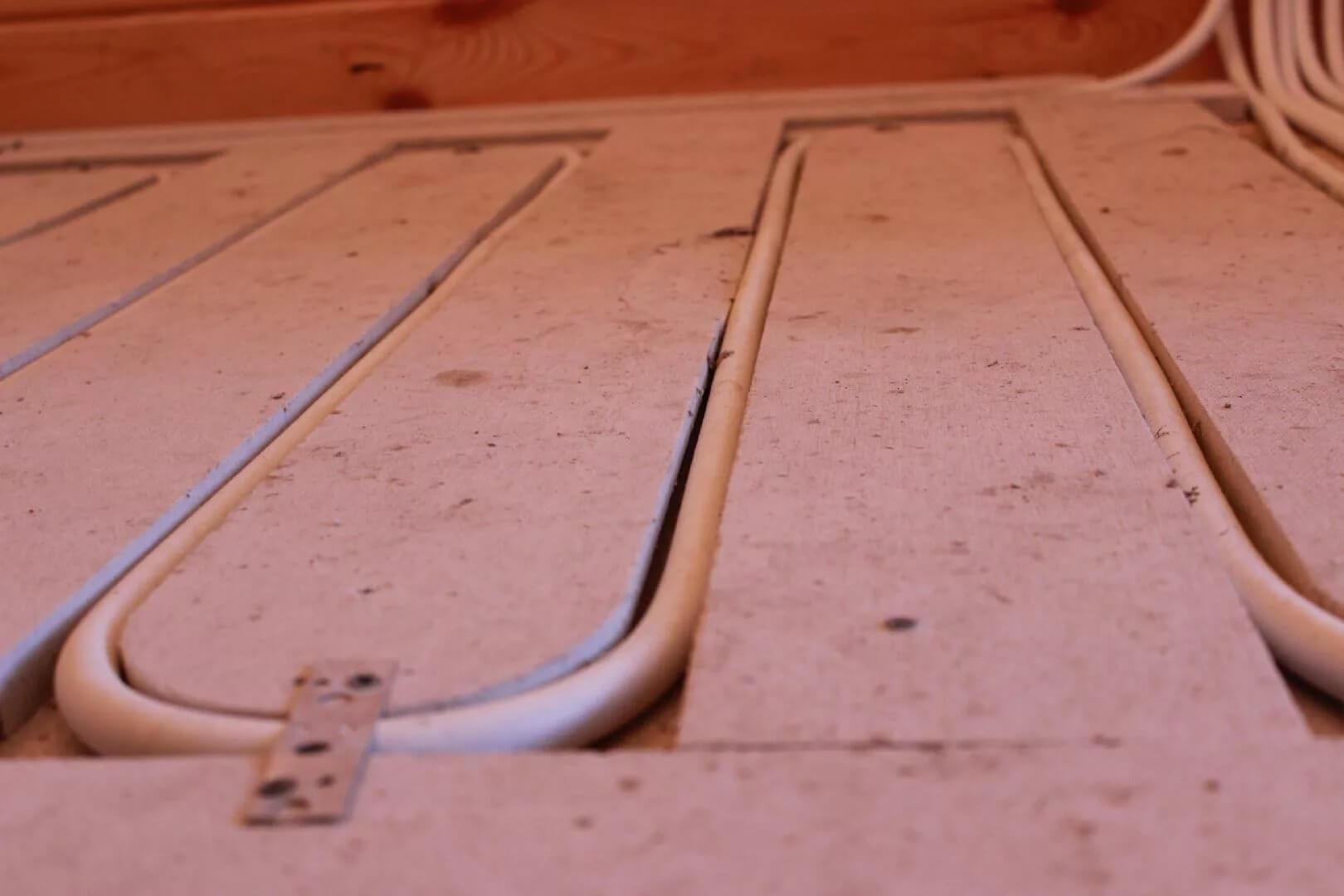 Основание для укладки труб