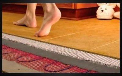 Эффективность уложенного теплого пола под керамогранит
