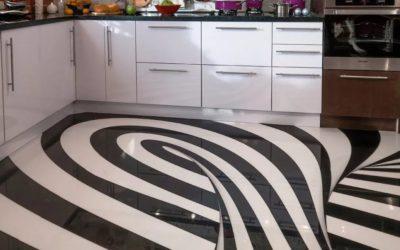 Какой наливной пол выбрать для кухни