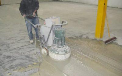 Как правильно шлифовать бетонные полы