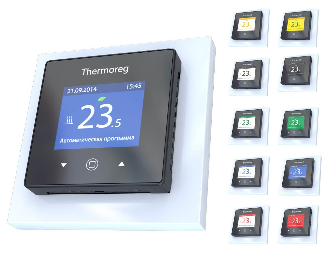 Терморегулятор с сенсорным управлением