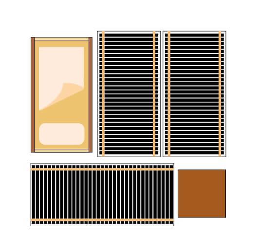 Правильная расстановка мебели - в обход ИК пленки