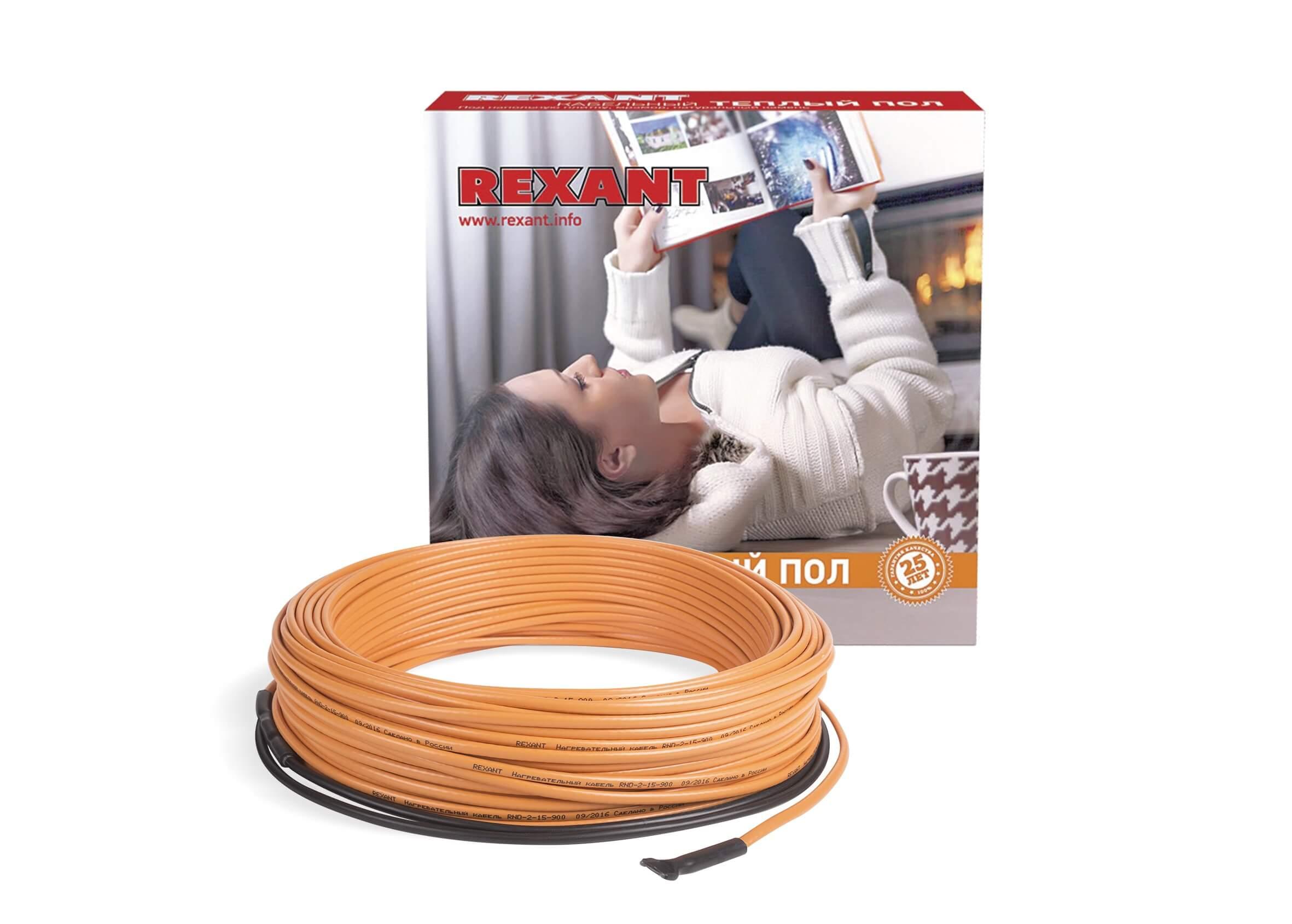 Классический греющий кабель