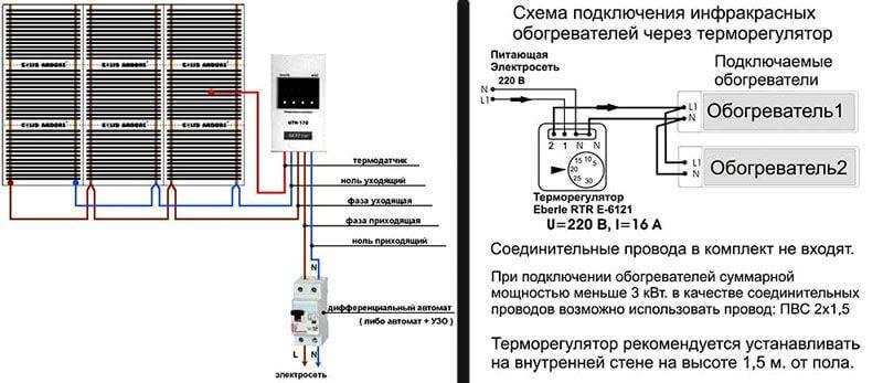 Схема подключение УЗО